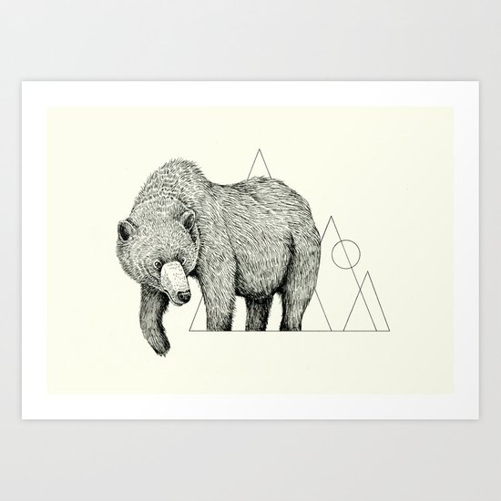 'Wildlife Analysis IV' Art Print