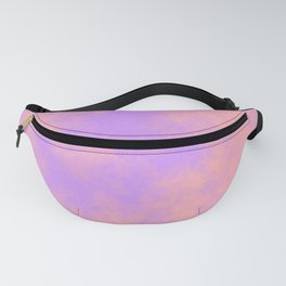 Cotton Candy Clouds - Pink & Purple Fanny Pack
