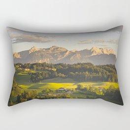 evening walk Rectangular Pillow