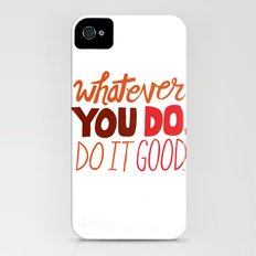 Express Yourself iPhone (4, 4s) Slim Case
