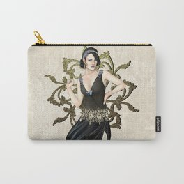 1920s Jazz Siren Carry-All Pouch