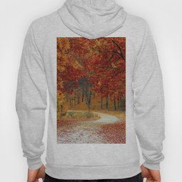 Red Autumn Hoody