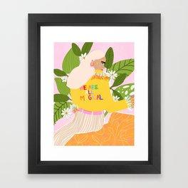 We are magical Framed Art Print