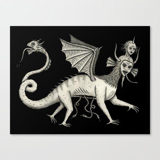 Vexadorae Canvas Print