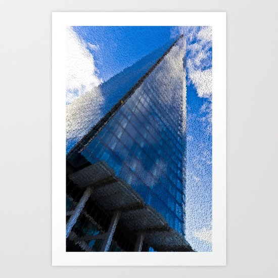 The Shard and more Shards Art Print