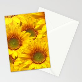 Yellow Mellow Sunflower Bouquet #decor #society6 #buyart Stationery Cards