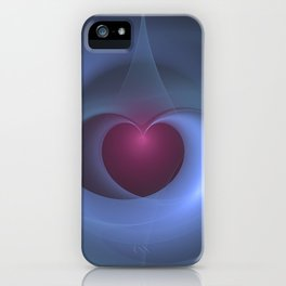 Take Care of My Heart Fractal iPhone Case