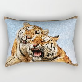 TIGERS - DOUBLE TROUBLE Rectangular Pillow