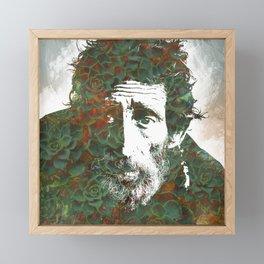 Worn experiences Framed Mini Art Print