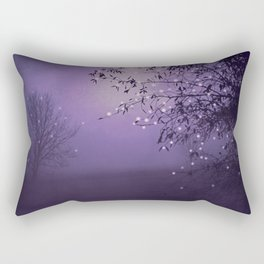 SONG OF THE NIGHTBIRD - LAVENDER Rectangular Pillow