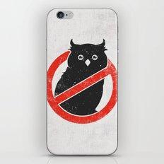 No Owls iPhone & iPod Skin