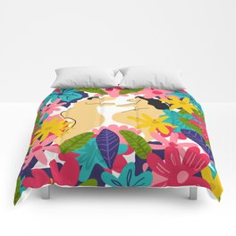 Couple Flowes Comforters