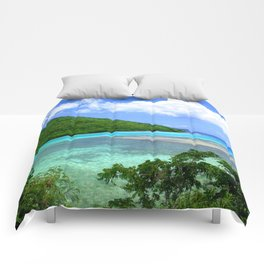 Watercolor Leinster Bay Comforters