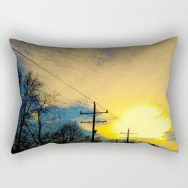 Telephone Trees Rectangular Pillow