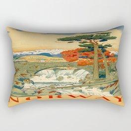Vintage poster - Norway Rectangular Pillow