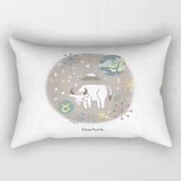 Taurus Earth Rectangular Pillow