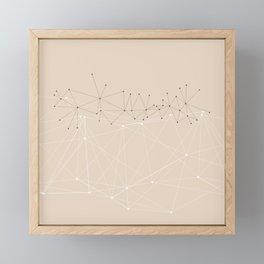 LIGHT LINES ENSEMBLE IX Framed Mini Art Print