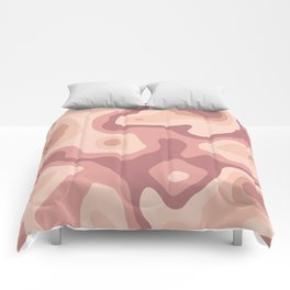Abstract realistic paper decoration Comforters
