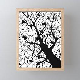 Late autumn Framed Mini Art Print