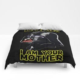 LUKE I AM YOUR MOTHER Comforters