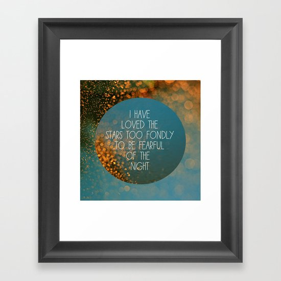 Stars Framed Art Print