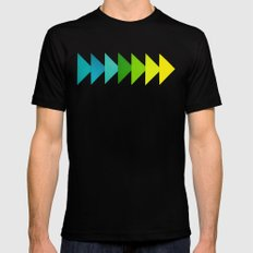 Arrows I Black MEDIUM Mens Fitted Tee