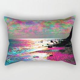Trippy Serenity Ocean Rectangular Pillow