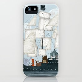 a nautical adventure iPhone Case
