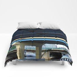 I-794 Over MKE Comforters