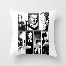 Cushing Horrors Throw Pillow