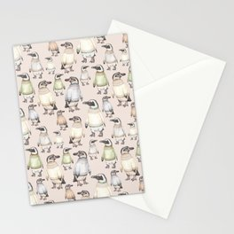 Penguins in sweaters Stationery Cards