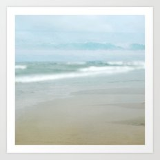 The Ghostly Sea Art Print