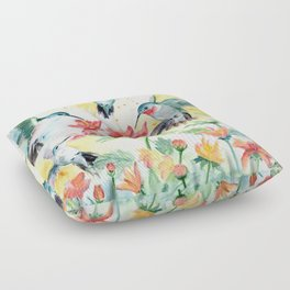 Hummingbird Party Floor Pillow