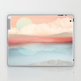 Mint Moon Beach Laptop & iPad Skin