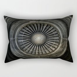 The Plane Engine Rectangular Pillow