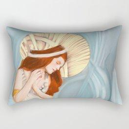 The Prayer Rectangular Pillow