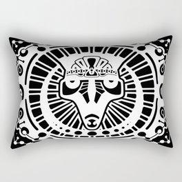 Rajah Sun Rectangular Pillow