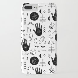 Witchy Patterns iPhone Case