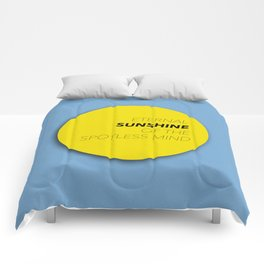 Eternal Sunshine of the Spotless Mind Comforters