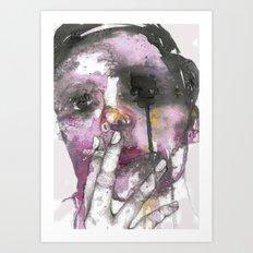 Cigarettes and a chance of rain Art Print