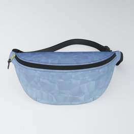 Blue Ombre - Flipped Fanny Pack