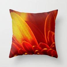 Gerbera in Love Throw Pillow