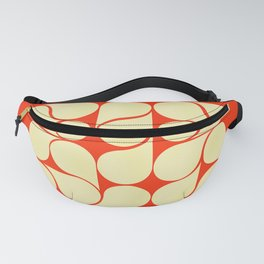 Mid-century abstract with red-no9 Fanny Pack