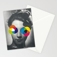 Psychedelic glasses Stationery Cards