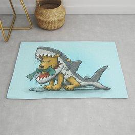 Shark Suit Dog Rug