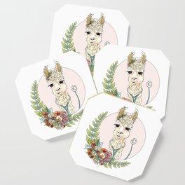 Healthcare Llama Coaster