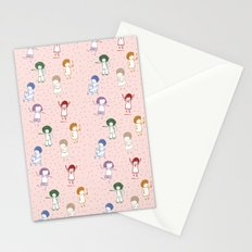 some girls Stationery Cards