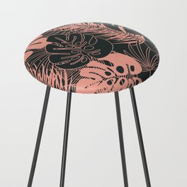 Tropical pattern 034 Counter Stool