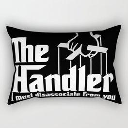 Muse the Handler Rectangular Pillow