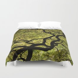 Japanese Maple Tree Duvet Cover
